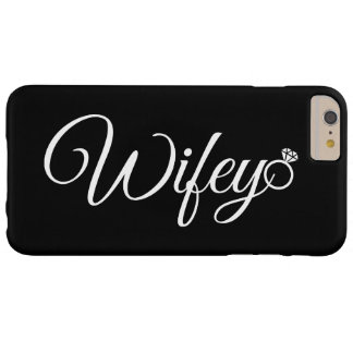 Wifey ring barely there iPhone 6 plus case