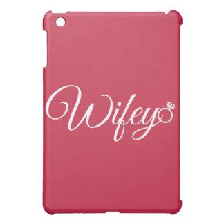Wifey ring iPad mini case