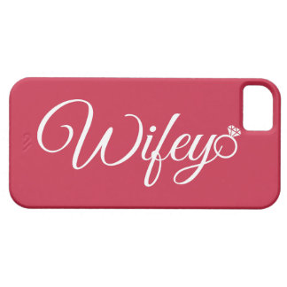 Wifey ring iPhone SE/5/5s case