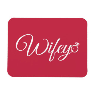 Wifey ring magnet