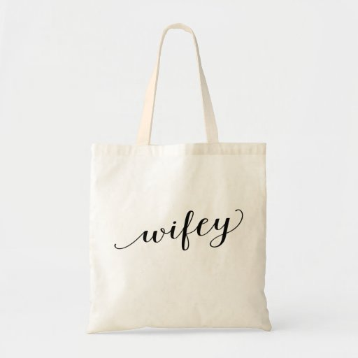 Wifey Tote Budget Tote Bag
