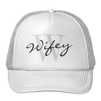 WIFEY trucker hat for wedding bride