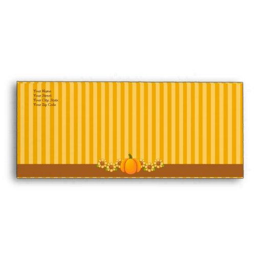 Wiffle Autumn Photo Card Envelope 3