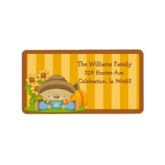Wiffle Fall Address Label 1