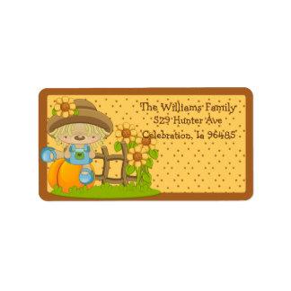 Wiffle Fall Address Label 2