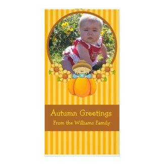 Wiffles Autumn Photo Card 2 photocard
