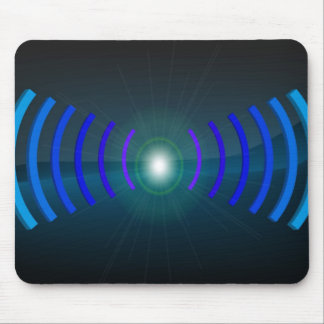 Wifi azul alfombrilla de raton