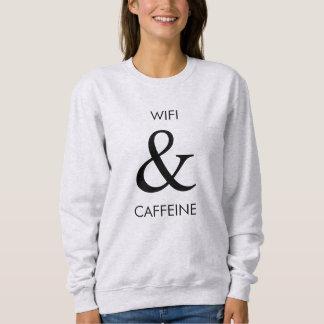 Wifi & Caffeine Sweatshirt