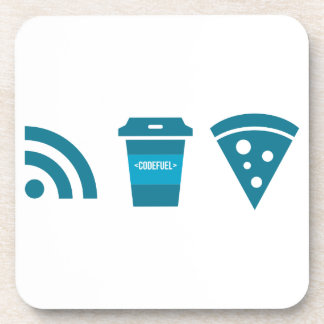 Wifi-Coffee-Pizza Coaster