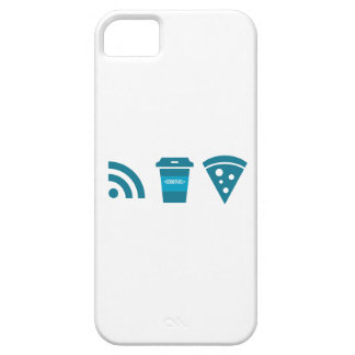 Wifi-Coffee-Pizza iPhone SE/5/5s Case