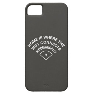 WiFi connects automatically iPhone cover iPhone 5 Cover