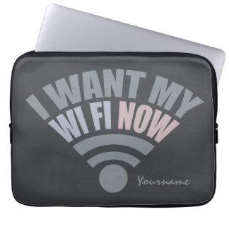WiFi custom laptop sleeves