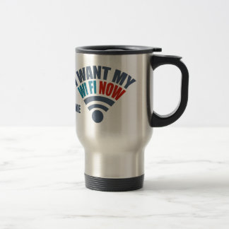 WiFi custom mugs