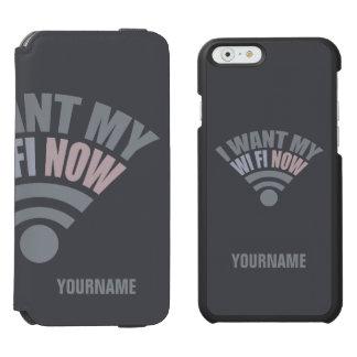WiFi custom phone case wallets