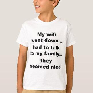 WIFI DOWN! T-Shirt