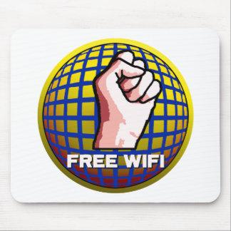 WiFi libre Alfombrilla De Ratón