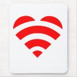 Wifi Love Mousepad