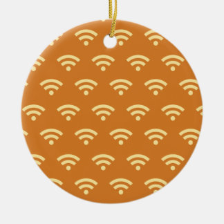 Wifi oranges christmas ornament