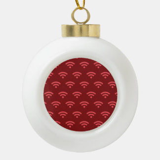 Wifi reds ornaments