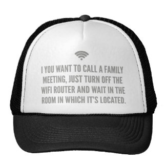 Wifi Router Mesh Hats