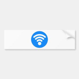 Wifi Symbol Bumper Sticker