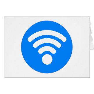 Wifi Symbol Card