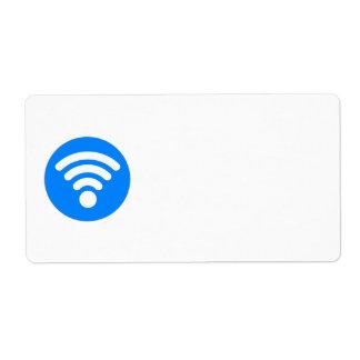 Wifi Symbol Label