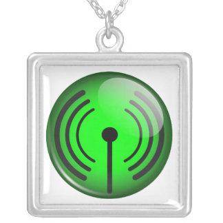 WiFi Symbol Necklaces
