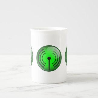WiFi Symbol Bone China Mug
