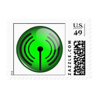 WiFi Symbol Stamp