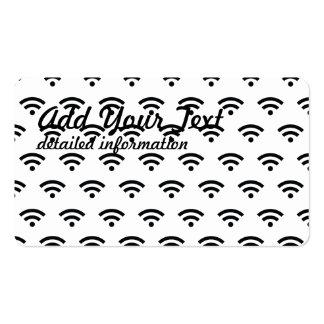 WiFi Tarjetas De Visita