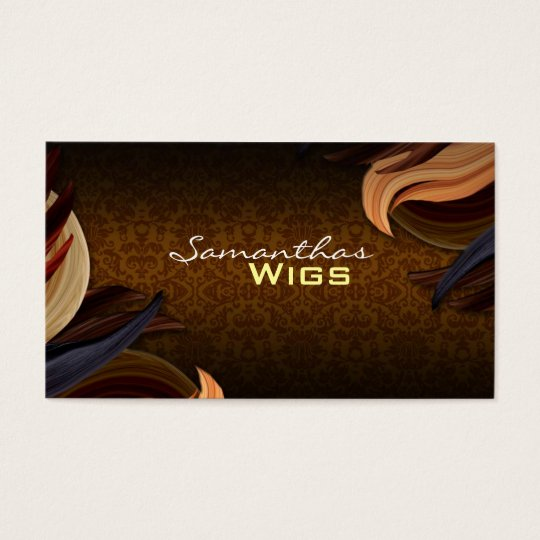 Wig Shop Business Cards