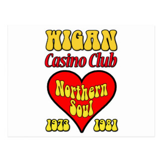 Wigan Casino Club Northern Soul Postcard