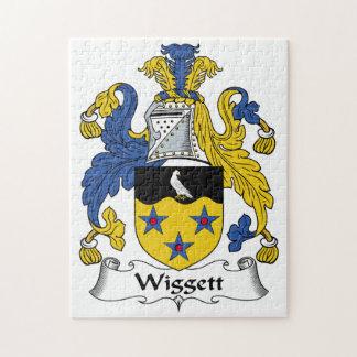 Wiggett Family Crest Puzzle