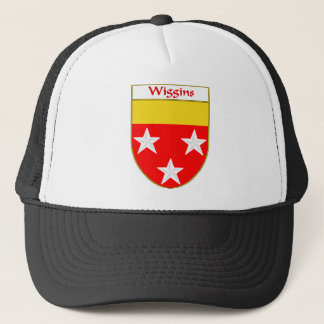 Wiggins Coat of Arms/Family Crest Trucker Hat