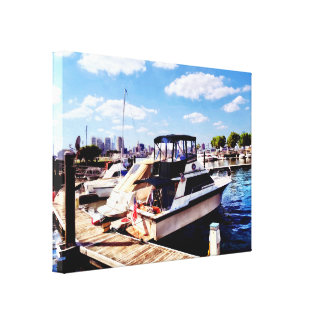 Wiggins Park Marina Canvas Print