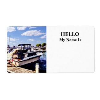 Wiggins Park Marina Label