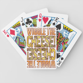 Wiggle Blue Cheese Bicycle Playing Cards