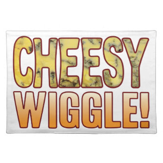 Wiggle Blue Cheesy Placemat