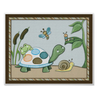Wiggle Bugs and Pond Friends Poster
