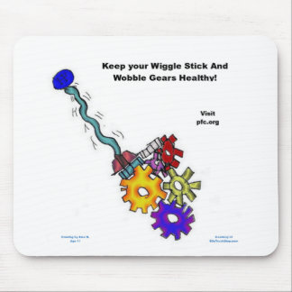 Wiggle Stick Wobble Grs - Cancer Fighting Mousepad