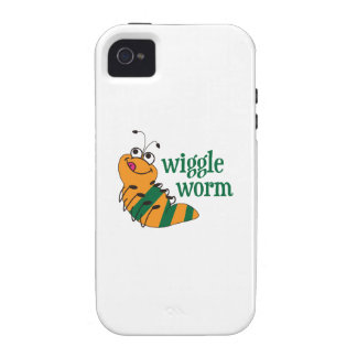 Wiggle Worm iPhone 4 Cover