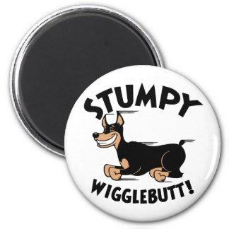 ¡Wigglebutt achaparrado! Imán De Frigorifico