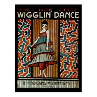 Wigglin Dance Postcard