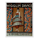 Wigglin Dance Poster
