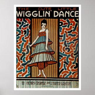 Wigglin Dance Poster