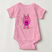 Wiggly Piggly Baby Bodysuit