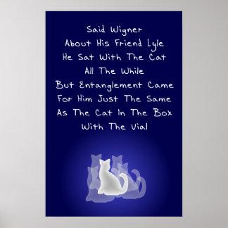 Wigner's Friend Limerick Poster