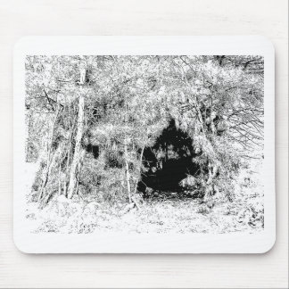 Wigwam in the Forest Mouse Pad