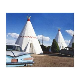 Wigwam Motel, Route 66 Canvas Prints